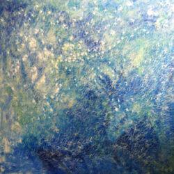 水天佛,王昭旻,2012年,布面油画w,160