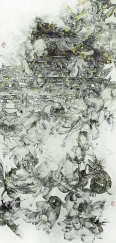 Carp Leaping Over Dragon's Gate, JE Art