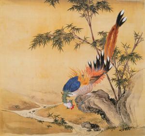 清 余省 临鸟谱2