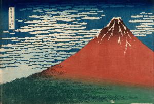 Katsushika_Hokusai,_published_by_Nishimuraya_Yohachi_(Eijudō)_-_Fine_Wind,_Clear_Weather_(Gaifū_kaisei),_also_known_as_Red_Fuji,_from_the_series_Thirty-six_Views_o..