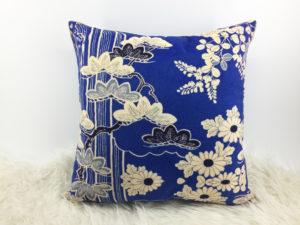 Floral Cushion, Velvet Cushion