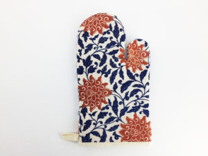 Floral Oven Mitts, Pot Holders, Oven Gloves 2