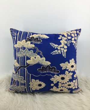 Floral Cushion, Velvet Cushion 1
